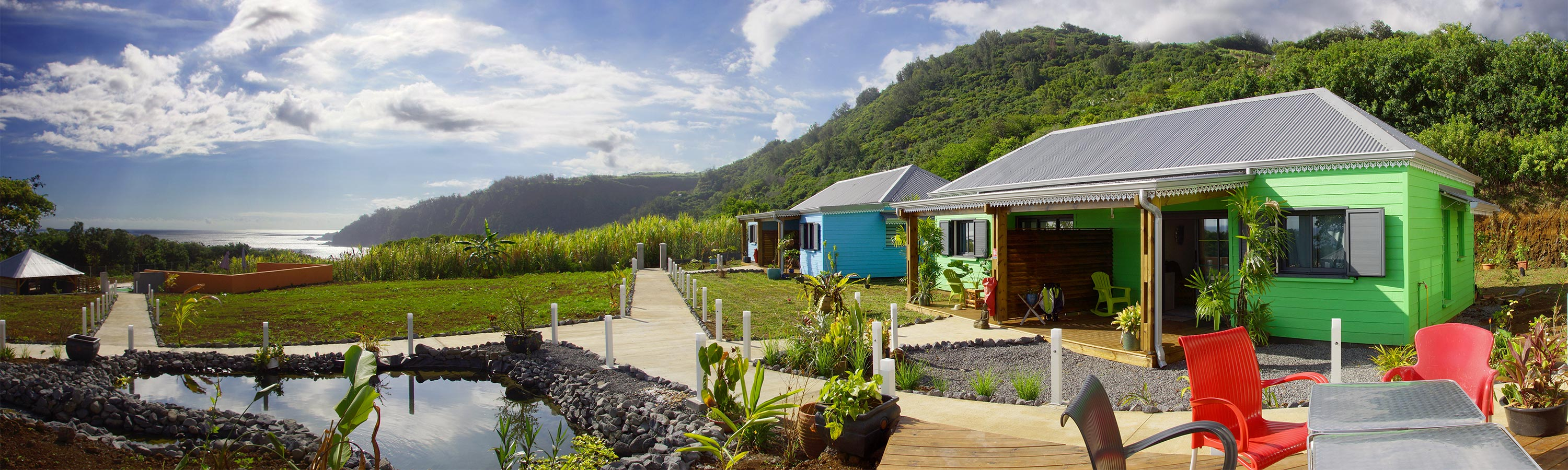 Seasonal holiday rental. Bungalow rental. Reunion Island 974